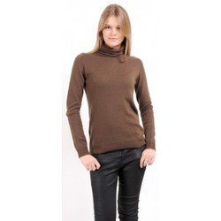 Clothing Women jumpers American Vintage PULL CIN240H10 CHATAIGNE Brown