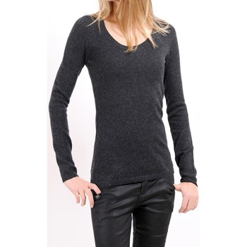 Clothing Women jumpers American Vintage PULL CIN235H10 ANTHRACITE Grey