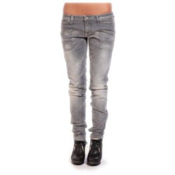 Clothing Women straight jeans Meltin'pot Jeans MARGO D1282-UB490 Grey