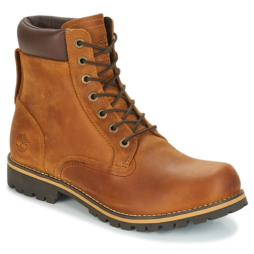 Shoes Men Mid boots Timberland EK RUGGED 6 IN PLAIN TOE BOOT Brown