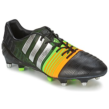 Shoes Men Football shoes adidas Performance NITROCHARGE 1.0 SG Black / Silver