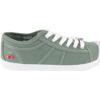 Shoes Women Tennis shoes Le Temps des Cerises Basket Basic 02 Sea Pray Green