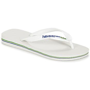 Flip flops Havaianas BRASIL LOGO White 350x350