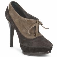 Shoes Women Shoe boots Alberto Gozzi CAMOSCIO ARATY Brown