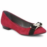 Shoes Women Flat shoes Alberto Gozzi CAMOSCIO RUBINO Red