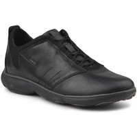 Shoes Men Low top trainers Geox U Nebula A U52D7A 00046 C9999 black
