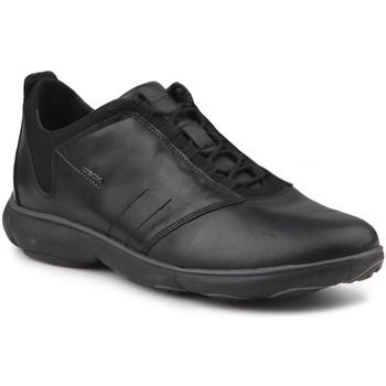 Shoes Men Low top trainers Geox U Nebula A U52D7A 00046 C9999 black