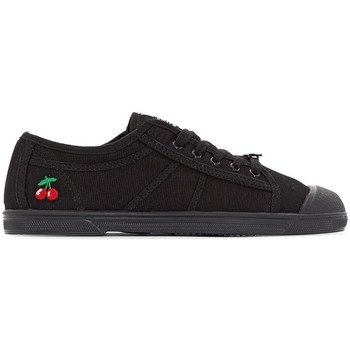 Shoes Tennis shoes Le Temps des Cerises Basket Basic 02 Mono Black Black