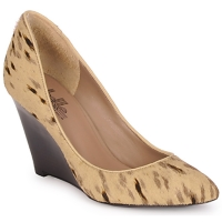 Shoes Women Heels Belle by Sigerson Morrison HAIRMIL BEIGE /  BLACK