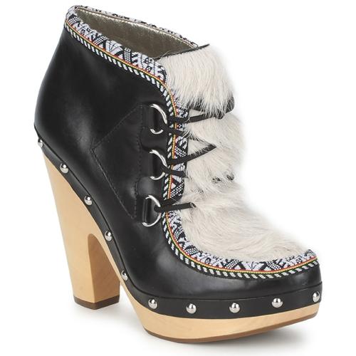 Shoes Women Shoe boots Belle by Sigerson Morrison BLACKA Beige / Black
