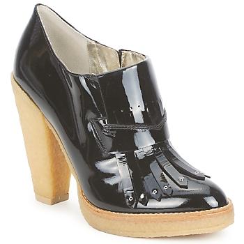 Shoes Women Shoe boots Belle by Sigerson Morrison SHEEP  black / Stone / Panna