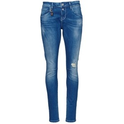 Clothing Women slim jeans Only LISE Blue