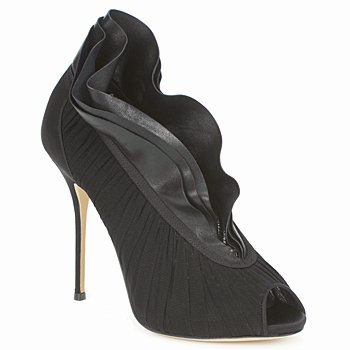 Shoes Women Heels Casadei 8066N126 Peplum nero