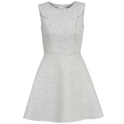 Clothing Women Short Dresses Naf Naf ELOLA Grey