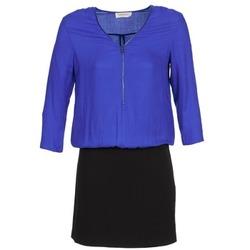Clothing Women Short Dresses Naf Naf KIMON Blue / Black