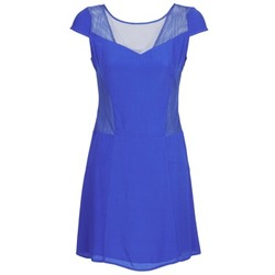 Clothing Women Short Dresses Naf Naf KLAK Blue