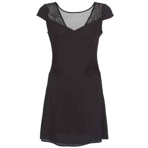Clothing Women Short Dresses Naf Naf KLAK Black