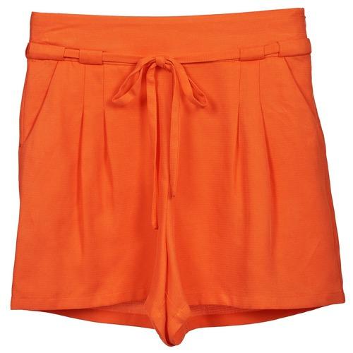 Clothing Women Shorts / Bermudas Naf Naf KUIPI Orange