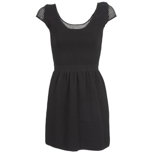 Clothing Women Short Dresses Naf Naf MANGUILLA Black