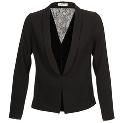 Clothing Women Jackets / Blazers Naf Naf X-EMAYA Black