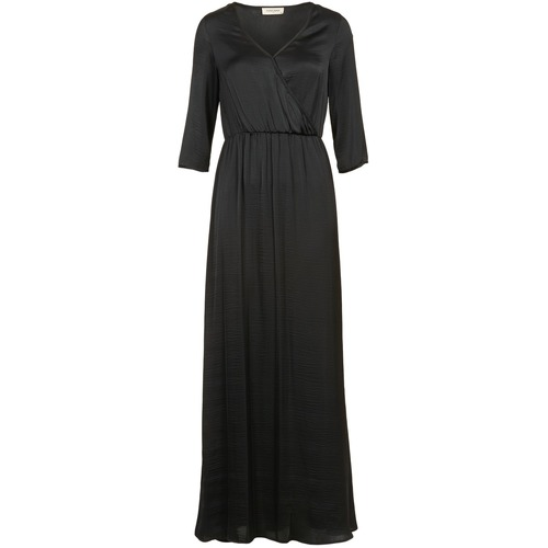 Clothing Women Long Dresses Naf Naf X-MAYOU Black