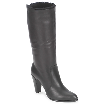 Shoes Women High boots Michel Perry CALF Black