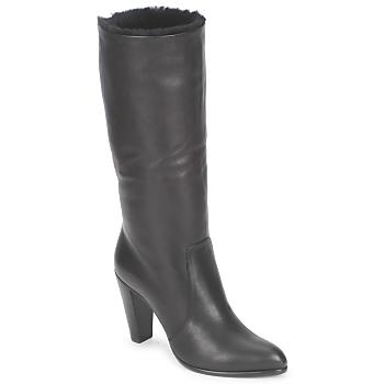 Shoes Women High boots Michel Perry CALF Black