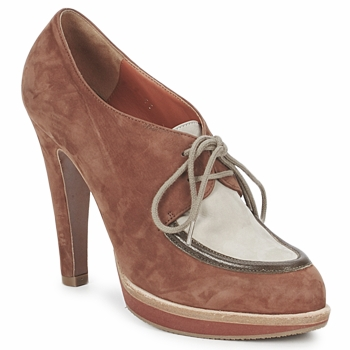 Shoes Women Shoe boots Michel Perry SADDLE Madras-saddle