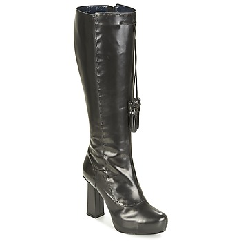 Shoes Women High boots Pollini PA2611 Black