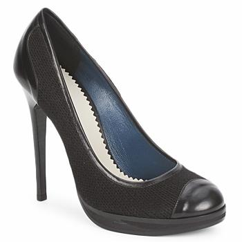 Shoes Women Heels Pollini PA1010 Lima lana nero