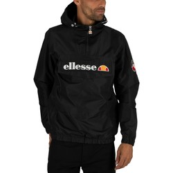 Clothing Men Jackets Ellesse Men's Mont 2 Overhead Jacket, Black black