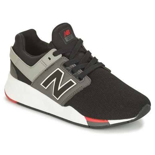 diversión Brisa Boquilla  New Balance GS247 Black - Shoes Low top trainers Child £ 66.00