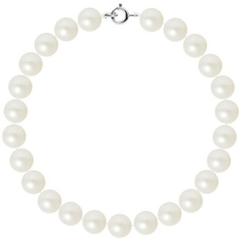 Watches Women Bracelets Blue Pearls AA White Freshwater Pearl Women Bracelet and 750/1000 White Gold White