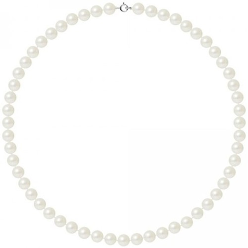Watches & Jewellery  Women Necklaces Blue Pearls BPS K027 W OB White