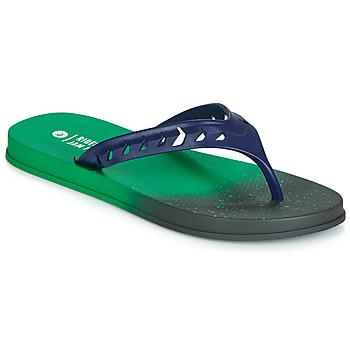 Shoes Men Flip flops Rider JAM FLOW THONG Green / Black / Blue