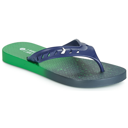 Shoes Children Flip flops Rider JAM FLOW THONG KIDS Green / Blue