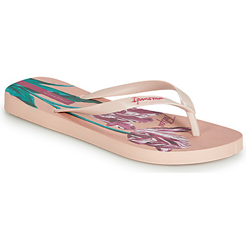 Shoes Women Flip flops Ipanema BOTANICALS Pink