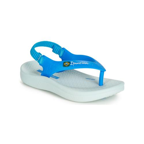 Shoes Children Sandals Ipanema ANATOMIC SOFT BABY Blue / White