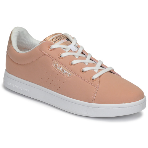 Shoes Girl Low top trainers Kappa TCHOURI LACE Pink / White