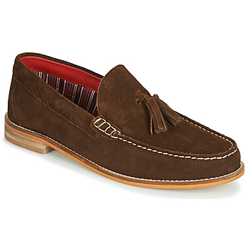 Shoes Men Loafers Base London TEMPUS Brown