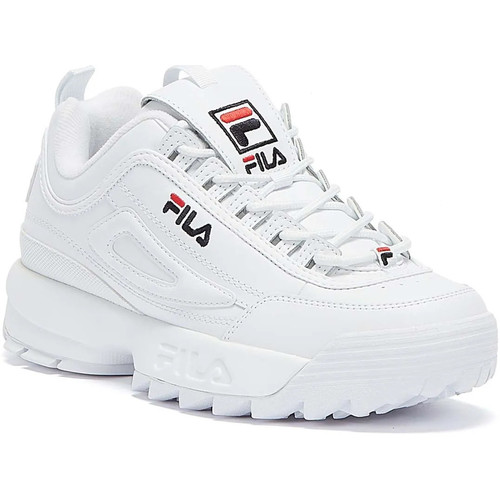 Shoes Women Low top trainers Fila Disruptor II Premium Womens White Trainers White
