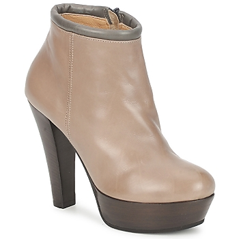 Shoes Women Shoe boots Keyté POULOI Taupe