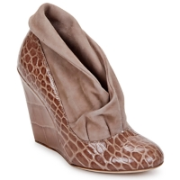 Shoes Women Shoe boots Jerome C. Rousseau SAVOYE CROC Taupe