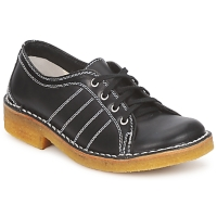 Shoes Men Derby Shoes Swedish hasbeens BIG BABY  BLACK