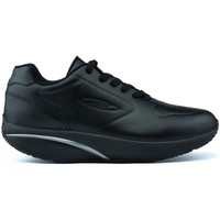 Shoes Low top trainers Mbt Unisex  1977 Leather Winter Shoes BLACK_NAPPA