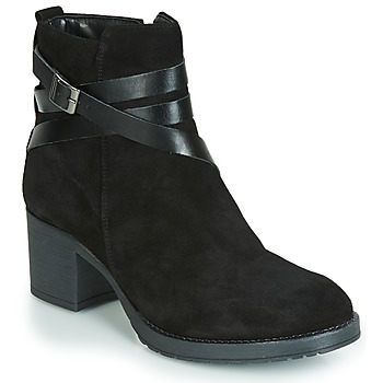 Shoes Women Mid boots André MIDWEST Black