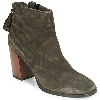 Shoes Women Mid boots André CARESSE Grey