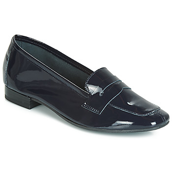 Shoes Women Loafers André NEMOURS 2 Marine