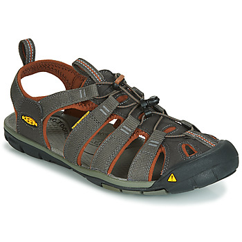 Shoes Men Outdoor sandals Keen MEN CLEARWATER CNX Grey / Brown
