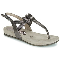 Shoes Women Sandals Tamaris LOCUST Silver